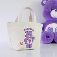 care bear トートバッグ/purple