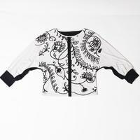 ドルマンスリーブ刺繍Tシャツ NO. 5202011A