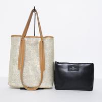 バッグ in バッグ付き 牛革Bag(イタリア製)