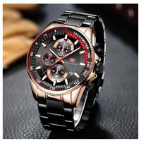 MINI FOCUS  腕時計  ビジネス  海外正規品  高級  メンズ  クォーツ式  多針  防水  クロノグラフ  スポーツ  EC56