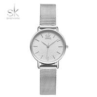 Shengke 時計 レディース クォーツ時計 ファッション シンプル  EC02