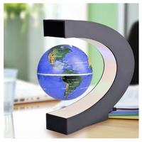 磁気 地球儀 マグネットグローブ 浮遊 回転型 磁気浮上 世界地図 LEDライト インテリア  EI01