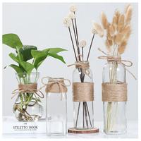 ガラス花瓶  テーブル装飾  低価格  アンティーク風  雑貨  ヨーロッパ  北欧  水耕栽培  EI05