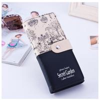 BOTUSI  レディース長財布  クラッチ  アート  ポップ  デザイン  カラー7種  EG06