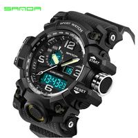 スポーツ  腕時計   メンズ   デジタル時計   防水   ストップウォッチ   バックライト   シリコン   LED電子  EC52