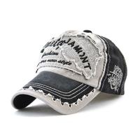ユニセックス  帽子  人気  野球  カジュアル  男女兼用  JAMONT  海外ブランド  ダメージ  キャップ  デニム  ヴィンテージ   キャスケット  EH01