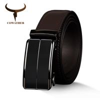 メンズベルト  COWATHER  海外ブランド  高級  レザー  本革  牛革  ヴィンテージ  サイズ選択  ビジネス  高品質  ブラウン  AG52