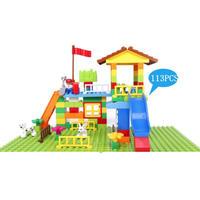 ブロックプレイセット レゴ LEGO デュプロ 互換品 アンパンマン ブロックラボ対応 113パーツ  TY04