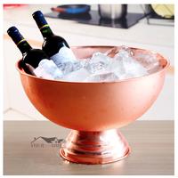 アイスバケット  13L  大容量  シャンパンクーラー  ワイン  シルバー/ブロンズ/ゴールド  3色  EK38