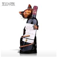 ワインホルダー  ラック  ワイン  収納  猫  インテリア  置物  EI08