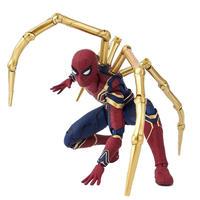 アクションフィギュア  スパイダーマン  アベンジャーズ  アイアンマン  16cm  おもちゃコレクション  ギフト  TY12
