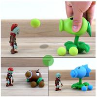 アクションフィギュア  子ども用  植物対ゾンビ  豆鉄砲   TY07