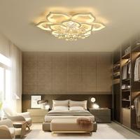 天井照明  LED  花  シャンデリア  現代  アクリル 12heads  調光可能  リビングルーム・寝室 リモコン  照明器具  EI21