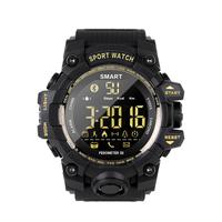 スポーツ  メンズデジタル腕時計  アウトドア  着信通知  ストップウォッチ  歩数計  多機能  スマートウォッチ  EC67