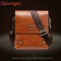 LRZZ  メンズ 薄型ショルダーバッグ  お得  ブラウン 高級PUレザー 大人気ブランド  機能性  格安  耐久 上質   EB67