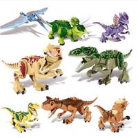 LEGO  レゴ  互換  恐竜  ジュラシックワールド  ブロック  8体セット 子ども  TY01