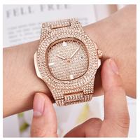 CKEYIN  メンズ腕時計  ノーチラス風   日本未発売   高級  パヴェダイヤカスタム   オマージュウォッチ  EC60
