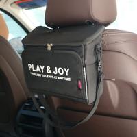 車  収納バッグ  席掛け   便利バッグ  鞄  保温バッグ  多機能  保温収納 アウトドア ピクニック 折りたたみ可  ブラック  CC35
