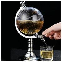 ディスペンサー  ワイン  ビール  ジュース  地球儀型  シングルキャニスターポンプ  バー  キッチンツール  EK05