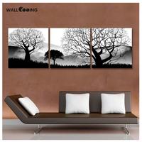 海外輸入  インテリア  パネルアート 3枚セット  50cm  白黒  木  デザイン  絵画  壁掛  タペストリ  EI16