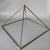 国産品 ピラミッドブースター L ゴールド(真鍮製)