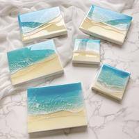 Sunny beach (mini canvas)