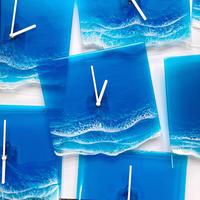 Clear Ocean Clock(マリンブルー)