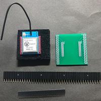 EASEL社LoRaモジュール(ES920LRA1B)+ピッチ変換基盤、ピンソケットセット