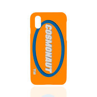 3D LOGO iPhone Case ORANGE