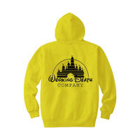 WORKING DEATH HOODIE YELLOW