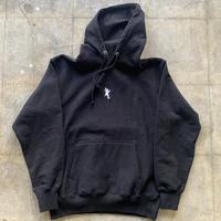 青蛙神(CHINWASEN) Embroidery long sleeve hoodie (刺繍白)