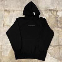 株式會社捌拾弐 Embroidery hoodie (BLK)