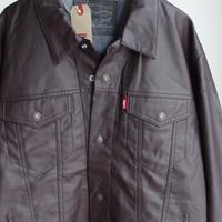 "new"" Levis fake leather jkt BRN"