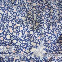 【残り100cm!】Sunny Land -deep blue (CO912467 C)【ダブルガーゼ】