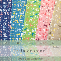 rain or shine -5colors (CO 112489)