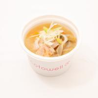豚トロと根菜の麹味噌風味スープ