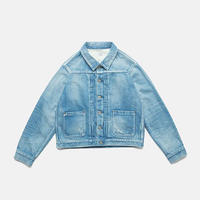 C.T.L STANDARD DENIM JACKET-BINGO FUSHIORI-LIGHT