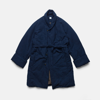 ZEN COAT - AUTHENTIC INDIGO