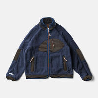 SUNSET PILE JACKET - INDIGO KAKISHIBU