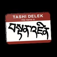 【TASHI DELEK】ステッカー
