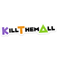 【KILL THEM ALL】ステッカー
