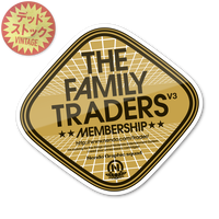 【THE FAMILY TRADERS V3 MEMBERSHIP】ステッカー