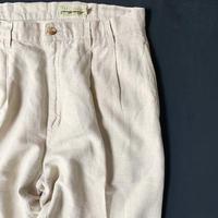 90s eddie bauer linen trousers
