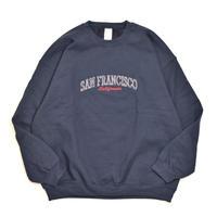 San Francisco Souvenir Crewneck Sweatshirts Navy