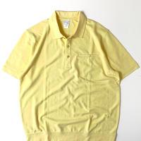 Haband Banded Bottom Shortsleeve Polo Shirt Yellow