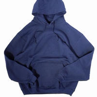 Fruit Of The Loom Super Cotton Pullover Parka Navy