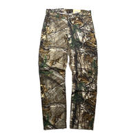 CARHARTT RELAXED FIT RUGGED FLEX RIGBY CAMO DUNGAREE REAL TREE