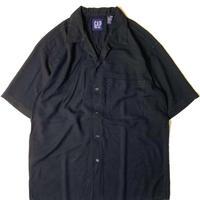90s Gap Rayon Open Collar Shortsleeve Shirt