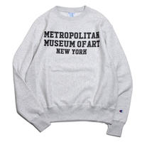 THE MET Reverse Weave Crew Sweatshirts