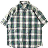 90s Eddie Bauer Shortsleeve Plaid Shirt